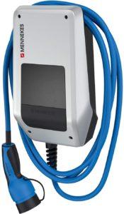 MENNEKES AMTRON 121001205 Compact 3,7/11 C2 – 11 kW private Garagen-Wallbox