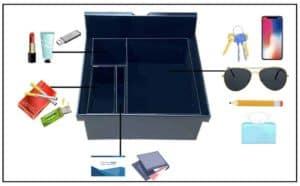 Aufbewahrungsbox für Tesla Mittelkonsole für Model 3