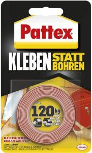 Pattex Kleben statt Bohren Klebeband