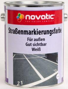 Straßenmarkierungsfarbe CD08 - RAL9010 Reinweiss - 750ml