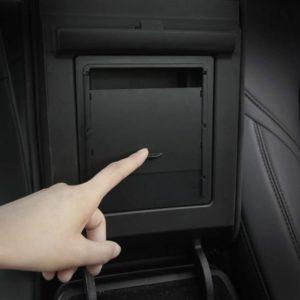 Gehime Aufbewahrungsbox für die Mittelarmlehne deines Tesla Model 3