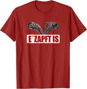 E'zapft ist - Elektroauto T-Shirt