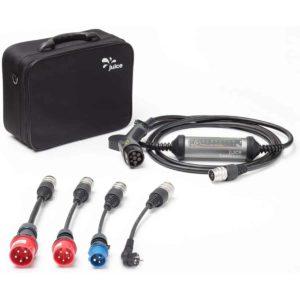 Juice Booster 2 Wallbox 11kw 22kW - 32A 3-Phasig, 1-Phasig Typ 2 AC German Traveller Set inkl. CEE32, CEE16, Camping, Schuko