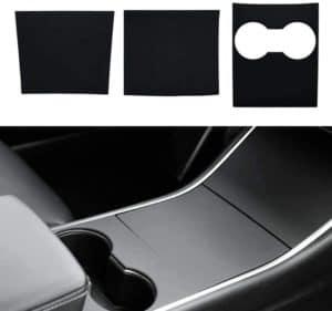 Model 3 Mittelkonsole Wrap Kit Folie ABS Kunststoff Armlehne Control Panel Dekorative