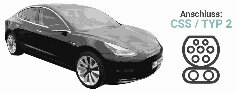 Ladekabel für Tesla Model 3
