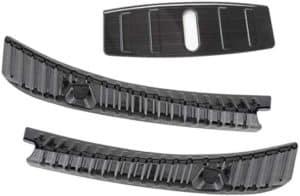 topfit Model 3 Ladekantenschutz Edelstahl Chrom Kofferraum Stoßstangenschutz Heckstoßstange Protector Guard für Model 3