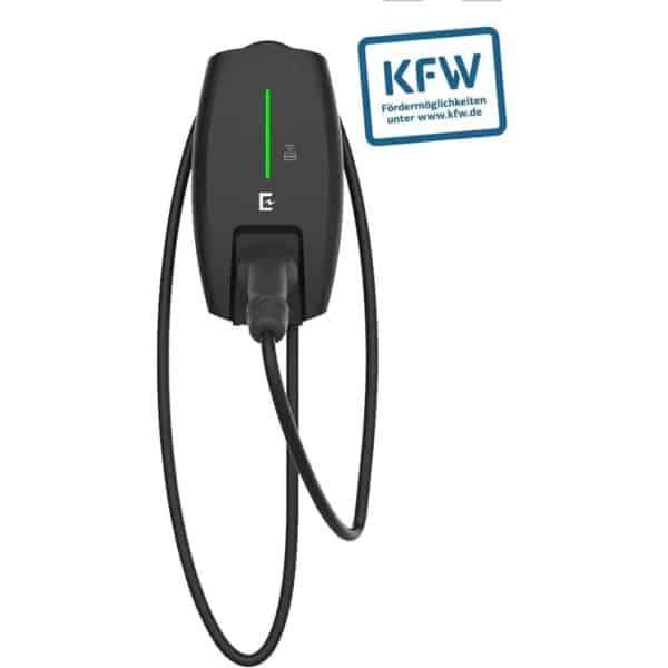 Entratek Wallbox Power Dot Eco 3-phasig, 16A, 11kW mit 4m-Kabel